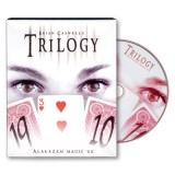 Trilogy version 2.0 (W/DVD) by Brian Caswell and Alakazam Magic - Trick