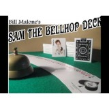654 Club Sam The Bellhop Bicycle Deck of Playing Cards By Bill Malone