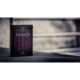 Invisible Deck Artifice Purple and Standard Artifice Purple Deck Combo Pack