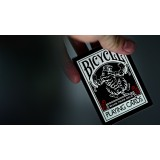 Bicycle Black Tiger Playing Cards- Red By Ellusionist