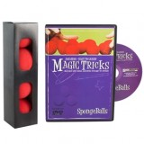 Amazing Easy To Learn Magic Tricks- Spongeballs & DVD Combo