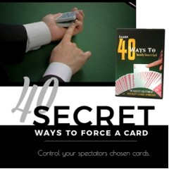 Learn 40 Ways to Secretly Force A Card DVD by Magic Makers