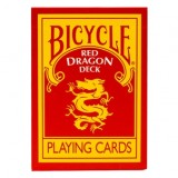 Magic Makers Inc Red Dragon Deck Bicycle