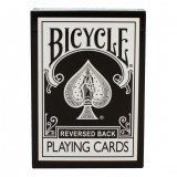 Magic Makers Inc Reversed Back Bicycle Deck Black