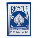 Magic Makers Inc Reversed Back Bicycle Deck Blue