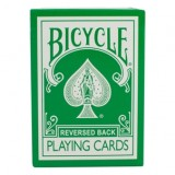 Magic Makers Inc Reversed Back Bicycle Deck Green