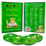 Royal Road to Card Magic 4 DVD Set by Magic Makers