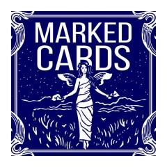 Marked Cards Blue Bicycle Deck by Rick Lax