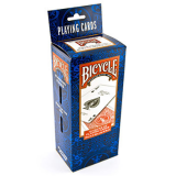 Bicycle Standard Mixed Red and Blue Poker Playing Cards 12 Decks