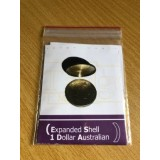 Expanded Shell $1 Dollar Australian Coin Tails Side by Tango