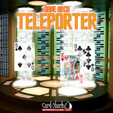 Teleporter (Poker Size Red) by Dave Arch and Card-Shark