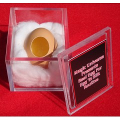 Real Egg for Silk to Egg Routine By Magic Universe Inc