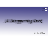 Disappearing Deck (Red Bicycle) by Ron Wilson and The Magic Apple - Trick