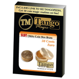 Slot Okito Coin Box Brass 50cent Euro by Tango -Trick (B0016)