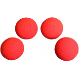 2 inch Regular Sponge Ball (Red) Box of 4 from Magic by Gosh