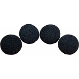 2.5 inch Super Soft Sponge Ball (Black) Pack of 4 from Magic by Gosh