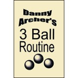 3 Ball Routine with DVD by Danny Archer - Trick