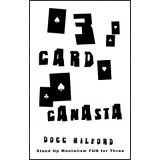 3 Card Canasta ( Color Varies )by Docc Hilford - Trick
