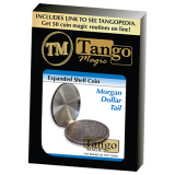 Expanded Shell Coin - Morgan Dollar (Tail) (D0099) by Tango - Trick