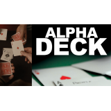 Alpha Deck (Cards and Online Instructions) by Richard Sanders - Trick