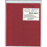 Flash Paper five pack(25x20cm) Red - Trick