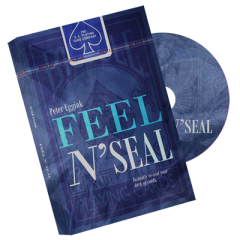 Feel N' Seal Red (DVD and Gimmick) by Peter Eggink - DVD