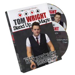 Standup Magic (2 DVD) by Tom Wright and World Magic Shop - DVD