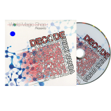 Decode Blue(DVD and Gimmick) by Rizki Nanda and World Magic Shop - DVD