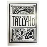 Tally Ho Reverse Circle back (White) Limited Ed. by Aloy Studios / USPCC
