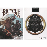 Bicycle Feudal Ninja Deck by Crooked Kings - Trick