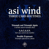 Three Card Routines by Asi Wind - DVD