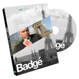 Badge (DVD and Gimmick) by Alexis De La Fuente and Sebastien Calbry - DVD