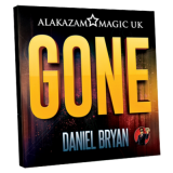 Gone (Red) by Daniel Bryan and Alakazam Magic - Trick