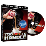 Too Hot to Handle (DVD and Gimmick) by Keiron Johnson and RSVP Magic - DVD