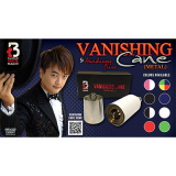 Vanishing Cane (Metal / Red) by Handsome Criss and Taiwan Ben Magic - Tricks