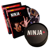 Ninja+ Deluxe BLACK (Gimmicks & DVD) by Matthew Garrett - Trick