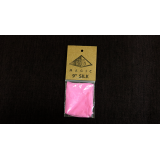 Silk 9 inch (Pink) by Pyramid Gold Magic