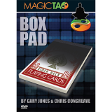 Box Pad (BLUE) DVD and Gimmick by Gary Jones and Chris Congreave - Tricks