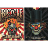 Bicycle Psycho Clowns Playing Card (Limited Edition)
