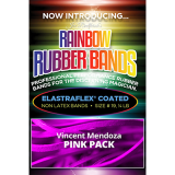 Joe Rindfleisch's Rainbow Rubber Bands (Vince Mendoza - Mr. Pink) by Joe Rindfleisch - Trick