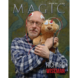 "Magic Magazine ""Richard Wiseman"" November 2015 - Book"