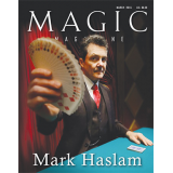 "Magic Magazine ""Mark Haslam"" March 2016 - Book"