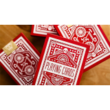 Red Wheel Playing Cards by Art of Play