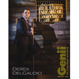 "Genii Magazine ""Derek DelGaudio"" August 2016 - Book"