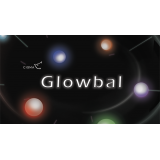 Glowbal 1.75 inch (White) single ball by Cigma Magic - Trick