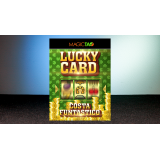 Lucky Card Red (Gimmick and Online Instructions) by Costa Funtastico - Trick