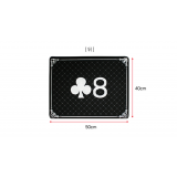 High Class Close Up Pad (Black) by JL Magic - Trick