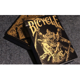 Bicycle Asura Black/Gold Playing Cards by US Playing Card