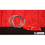 """5"""" Linking Rings SS (7 Rings) by Mr. Magic - Trick"""