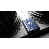 Blue Bomber Playing Cards (Marked) by BOMBMAGIC